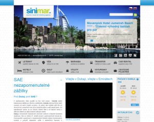 Cestovní kanceláře Sinimar.eu