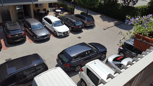 Hotelové parkoviště, Imperia, Lido di Jesolo