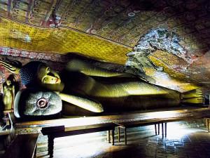 Jeskynní chrám Rock Cave v Dambulla