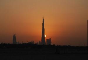 Nejvyšší budova na světě Burj Dubai