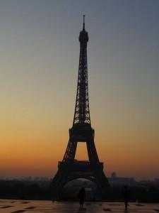 Eiffelova věž, zdroj: vlastní archív