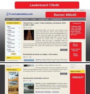 Ukázka reklamních ploch
