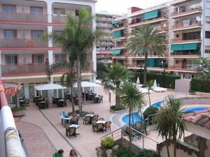 Hotel Monteplaya, pohled z balkónu