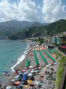 Klasická Italská pláž (Amalfi - Napoli)