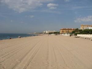 Malgrat de Mar - pláž