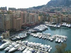 Pohled na Monaco