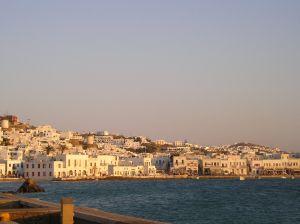 Ostrov Mykonos, Řecko