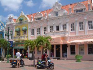 Hlavní město Aruby Oranjestad
