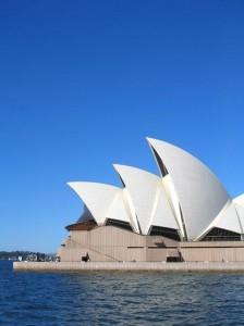 Nejznámější místo v Austrálie - Sydney , Opera house