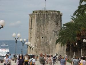 Historická věž v Trogiru