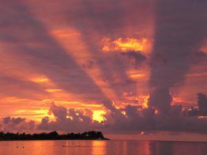 Západ slunce na Jamajce je prý ten nejhezčí